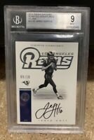 2016 Panini Encased Jared Goff Scripted Signatures RC #9/10 BGS 9/10! RARE HOT!!