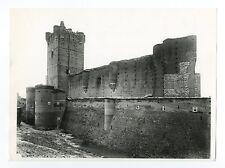 Spanish Architecture - Vintage Publication Photograph - Castle of La Mota