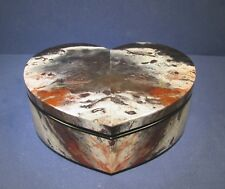 Heart Shape Jasper TREASURE BOX (#04) - Top Quality Hand-crafted Workmanship
