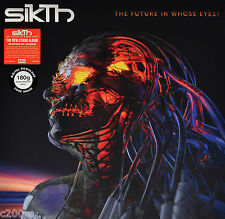 SIKTH - THE FUTURE IN WHOSE EYES? ORG 2017 EU 180G vinyl LP + DOWNLOAD, SEALED!