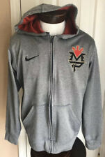 Nike ThermaFit Manny Pacquiao Boxing Grey Hoodie Mens L