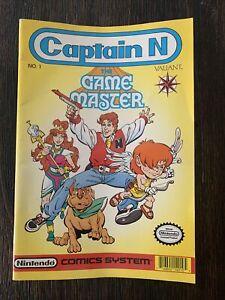 Captain N: The Game Master #1, 1990 Nintendo Valiant Comics!