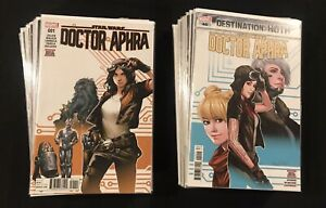 Star Wars DOCTOR APHRA (Vol 1 2016) 1-40 COMPLETE 1st Print Set! Ann. 1 2 3 LOOK