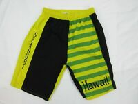 Vintage Mens Board Short Shorts Size M Beach 90s Bright Loud Surfing Mambo