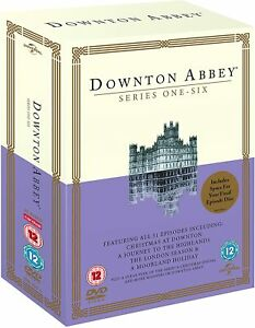 DOWNTON ABBEY - COMPLETE COLLECTION SERIES 1 - 6 (23 DISC DVD) NEW & SEALED