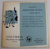 Alexander Nevsky - Cantata, Op. 78, Philadelphia Orch, Vinyl Lp, Prokofiev