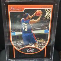 2007-08 Topps Bowman Basketball Lebron James Cavaliers Lakers MVP