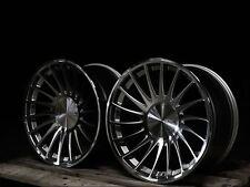 """18""""3sdm 0.04 silv audi a3/a4/vw passat/golf 5/tt/seat/skoda alloy wheels 8.5/9.5"""