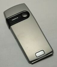 BRAND NEW OEM NOKIA 6230 6230i Silver Battery Door Cover Back