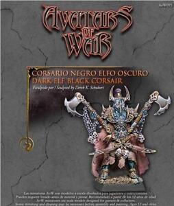 AVATARS OF WAR - AOW93 Dark Elf Black Corsair *Warhammer Style*