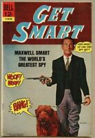 Get Smart #1-1966 fn 6.0 Dell Comic Don Adams TV Show Agent 86
