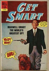 Get Smart #1-1966 fn 6.0 Dell Comic Don Adams TV Show Agent 86