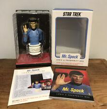 STAR TREK MR. SPOCK FIGURE - LOGIC & PROSPERITY BOX