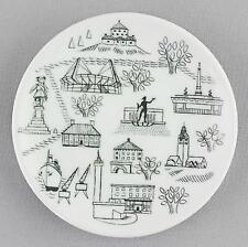 A small Rorstrand pin dish/wall plaque. Gothenburg. Swedish design