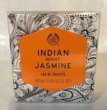 THE BODY SHOP INDIAN NIGHT JASMINE EAU DE TOILETTE EDT PERFUME SPRAY 1.69 OZ NEW