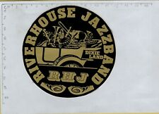 ADESIVO STICKER VINTAGE KLEBER  RIVERHOUSE JAZZBAND DIXIE LAND