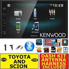 FITS TOYOTA & SCION JVC-KENWOOD SCREEN MIRROR BLUETOOTH USB CAR RADIO STEREO PGK