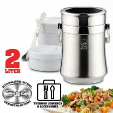 [ 2L ] Stainless Steel Food Storage Thermos Container