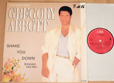 """GREGORY ABBOTT - Shake You Down  (1986 / EXTENDED 12""""-MAXI / NEAR MINT)"""