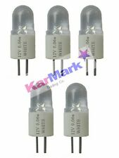 5 x G4  LED LAMP / BULB 12v  0.06w  30,000 HOURS   +   FREE  DELIVERY