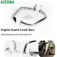 Engine Guard Highway Crash Bar Protection Side For Suzuki Boulevard M109R 06-17