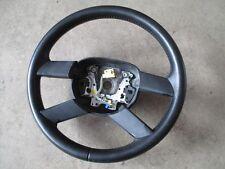 4 radios de volante de cuero VW Touran volante negro 1t0419091ae