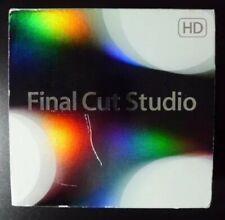 NEU Apple Final Cut Studio 3 HD Pro 7 mb642z/a fehlende Installation DVD nur