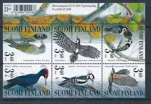 [338802] Finland 2000 birds good very fine MNH sheet