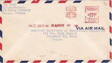 France, 1950, Cover, Marshal Plan Meter