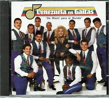 Venezuela en Gaitas  de Miami para el Mundo     BRAND  NEW SEALED  CD