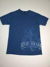 VTG Da Hui Ocean Warriors Hawaiian Surfer T-Shirt Blue Mens Size Medium USA Made