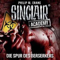 SINCLAIR ACADEMY-FOLGE 09 - DIE SPUR DES BERSERKERS  2 CD NEU