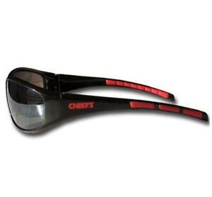 Kansas City Chiefs Wrap Sunglasses [NEW] NFL Sun Glass Sunglass Shades Beach