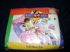 New Disney's Minnie Mouse 4 piece Full Size Sheet