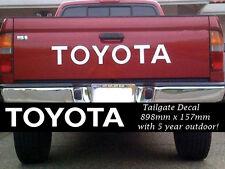 TOYOTA Tailgate Decal sticker 898 x 157mm With premium Vinyl