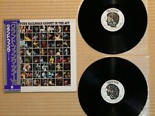 Grand Funk Railroad ‎– Caught In The Act ECS-67049•50 Japan Booklet NM vinyl