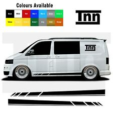 Side Stripes For VW Transporter T5 T6 T4 Stickers Camper Van Decal Vinyl Camper