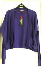 M&S Limited Collection Size M  Purple Long Sleeve Shrug Open Cardigan Bnwt £35
