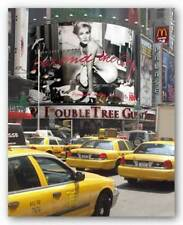 Yellow Cabs on Times Square Igor Maloratsky Art Print 19x13
