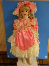"""Treasures Forever Collection Dolls, 25"""" """"Isabel, Artist William Tung, Hsn, 1994"""