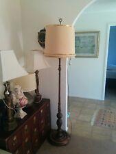 Vintage Retro timber Floor Lamp