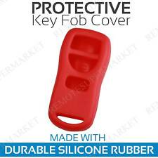 Remote Key Fob Cover Case Shell for 2002 2003 Infiniti QX4 Red