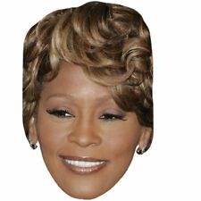 Whitney Houston (Modern) Celebrity Mask, Card Face and Fancy Dress Mask