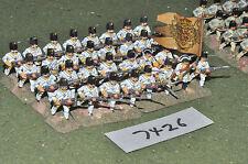 25mm Guerra de los siete años austríaco grenzers 32 Figuras De Metal Pintado (7426)