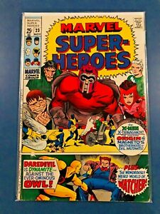 MARVEL SUPER HEROES  # 23 NOV 1969 X-Men Daredevil The Watcher Marvel Comics
