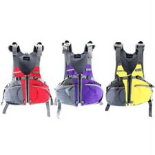 Adjustable Size Life Jacket Vest Sailing Kayak Fishing Purple/Red/Yellow Us Ship