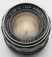 Auto Rikenon 55mm 55 mm 1:1.4 1.4 Lens - M42 Anschluss