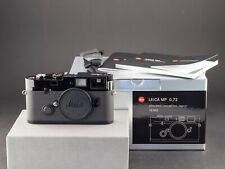 Leica MP 0.72 10302 Black Paint analog aus 12.2019 FOTO-GÖRLITZ Ankauf+Verkauf