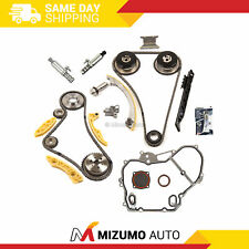 Timing Chain Kit VCT Selenoid Actuator Gear Cover Gasket Fit GM Ecotec 2.0L 2.4L