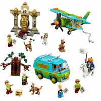 Building Blocks SCOOBY DOO Mystery Machine Set Bus Lepining City Toys for Kids
